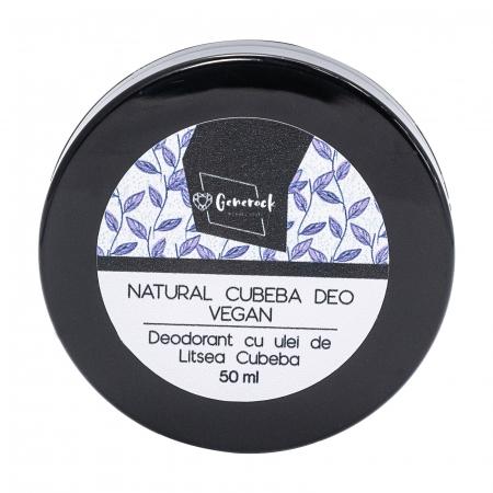 Natural Cubeba Deo VEGAN - Generock