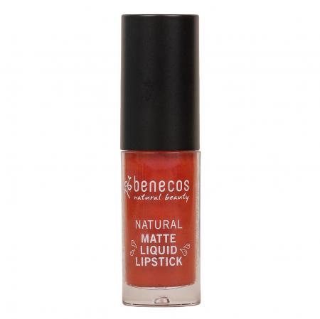 Natural Matte Liquid Lipstick - trust in rust