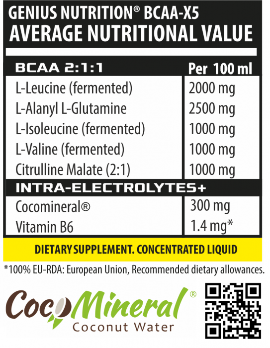 BCAA-X5® Liquid Shot 100ml 1
