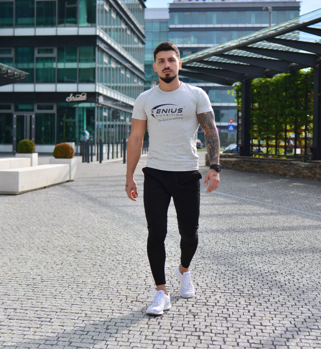 Genius Nutrition® Grey T-Shirt 0