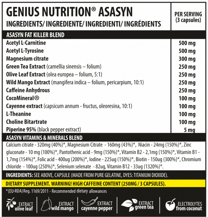 Asasyn (60servings/180caps) 1