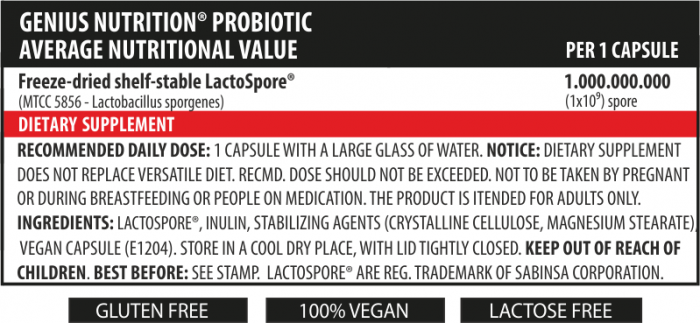 Probiotic (60 Servings/60caps)