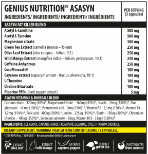 Asasyn (60servings/180caps)1