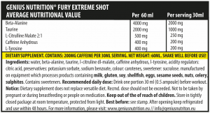 Fury Extreme Shot (2 servings/60ml)2