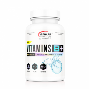 Vitamins B+ (60 Servings/60caps)0