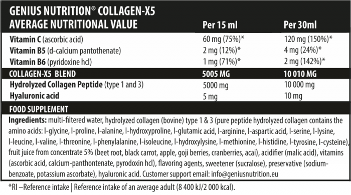 Collagen-X5 500ml 1