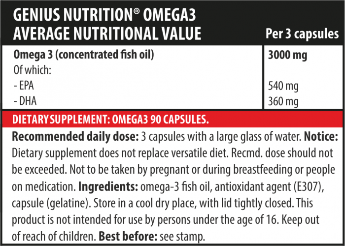 Omega-3 90 softgels 2