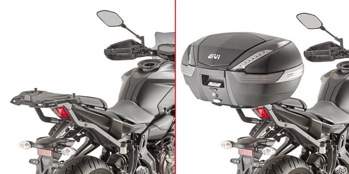 Suport geanta topcase Yamaha MT-07 [0]