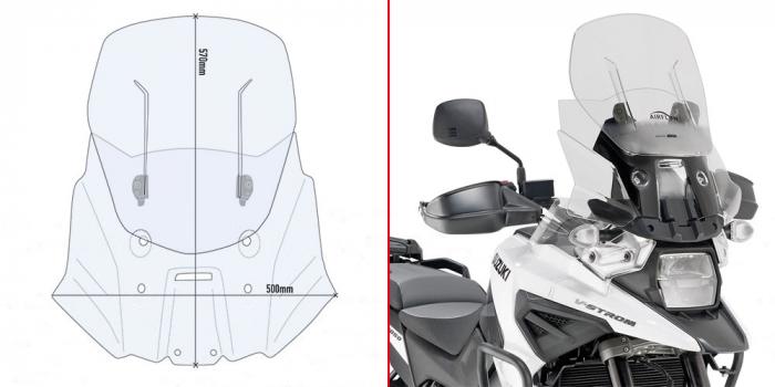 Parbriz deflector Suzuki V-Strom 1050 (20) [0]