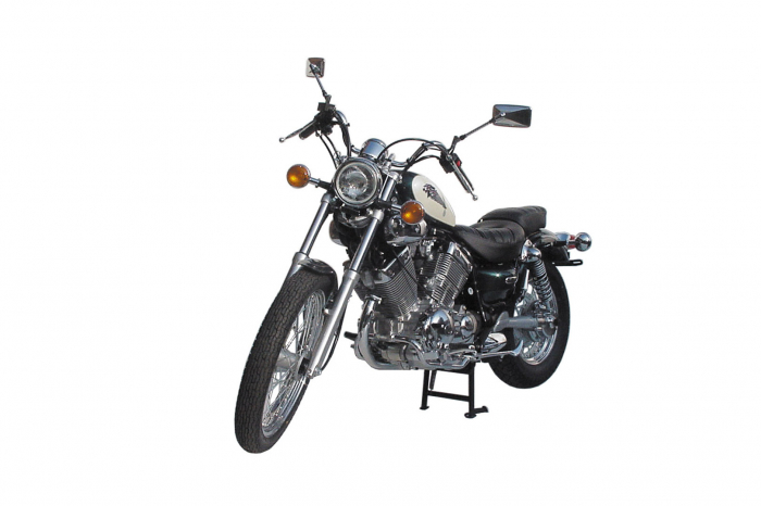 Cric central Black. Yamaha XV 535 Virago (87-98). [0]