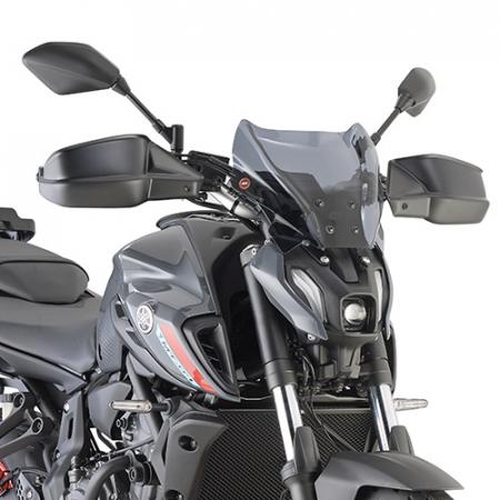 Parbriz fumuriu HONDA CB650R 2019/ Yamaha MT-07 21 [1]