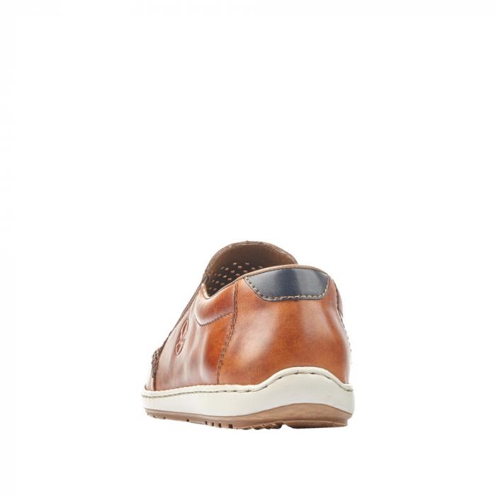 Pantofi barbat tip mocasin, piele naturala 08868-24 [2]