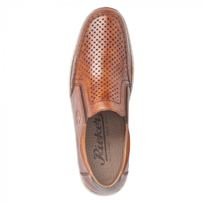 Pantofi barbat tip mocasin, piele naturala 08868-24 [3]