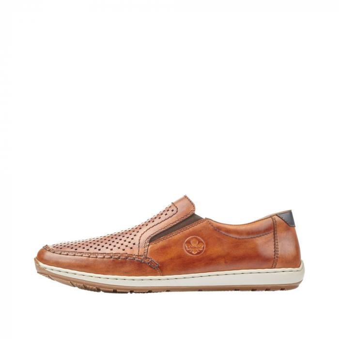 Pantofi barbat tip mocasin, piele naturala 08868-24 [4]