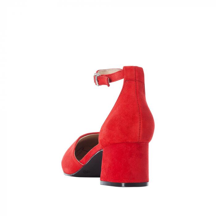 Pantofi eleganti dama, piele naturala de antilopa, 49150-33 2
