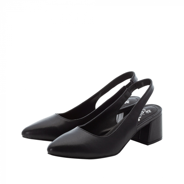 Pantofi dama, piele naturala, 49170-00 6