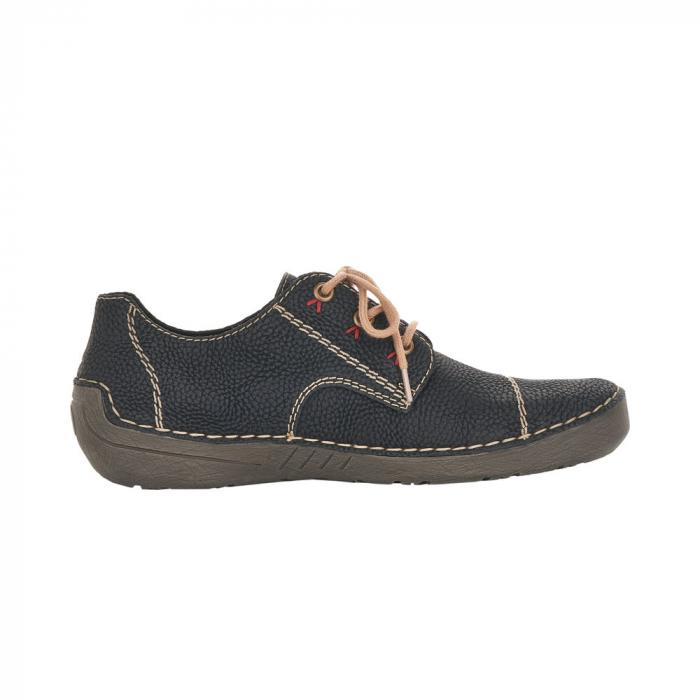 Pantofi dama casual, piele naturala, 52520-00 1