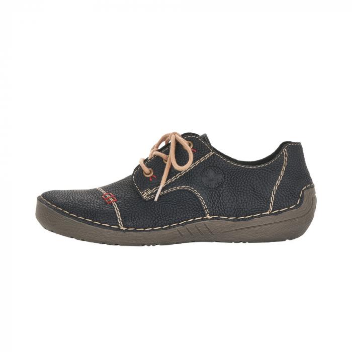 Pantofi dama casual, piele naturala, 52520-00 4