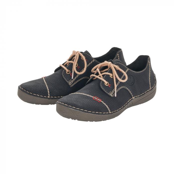Pantofi dama casual, piele naturala, 52520-00 6