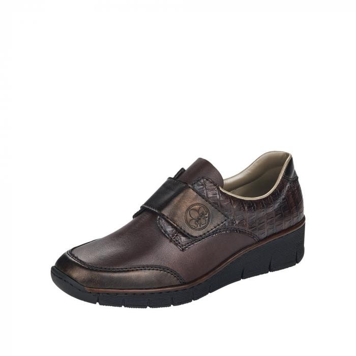 Pantofi dama casual, piele naturala, 53750-25 [0]