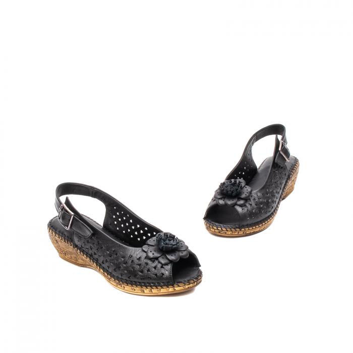 Sandale dama, piele naturala, D43700 01-N 1