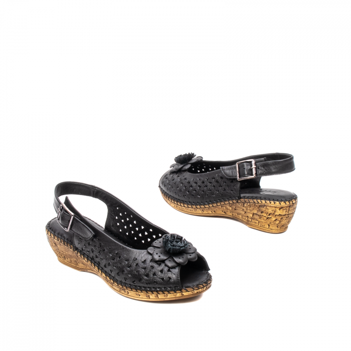 Sandale dama, piele naturala, D43700 01-N 2