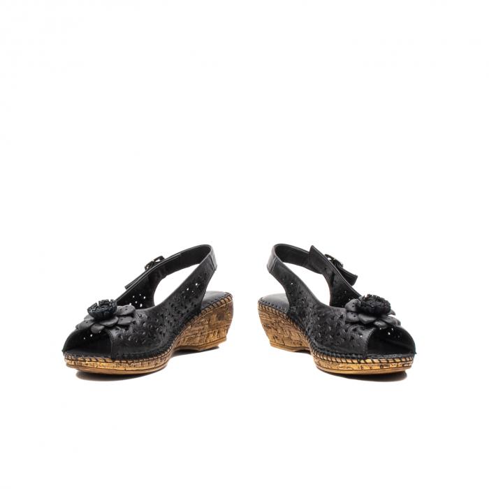 Sandale dama, piele naturala, D43700 01-N 4