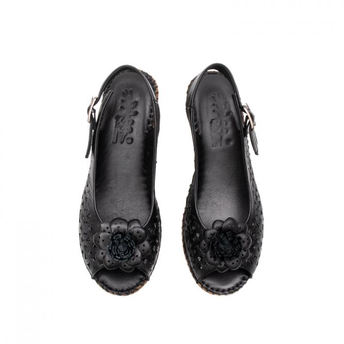 Sandale dama, piele naturala, D43700 01-N 5