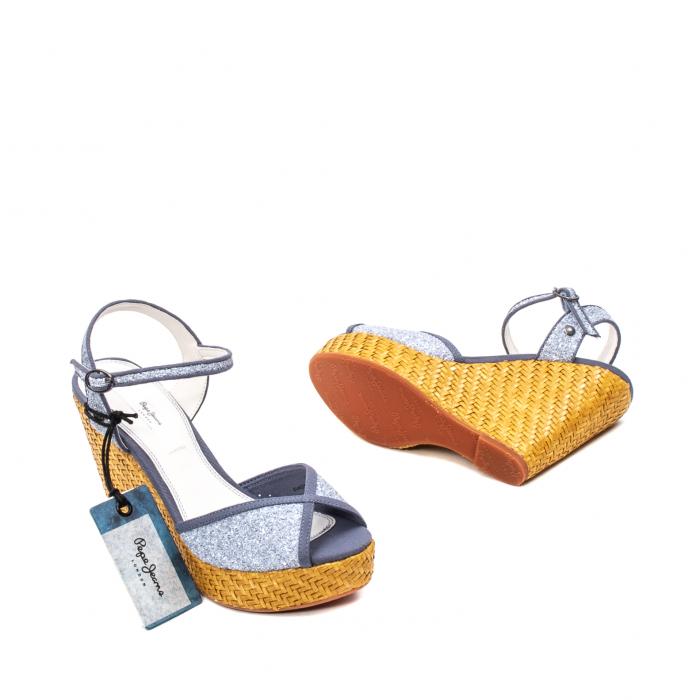 Sandale dama elegante, piele naturala, WALKER GLAM, 90298-585 3