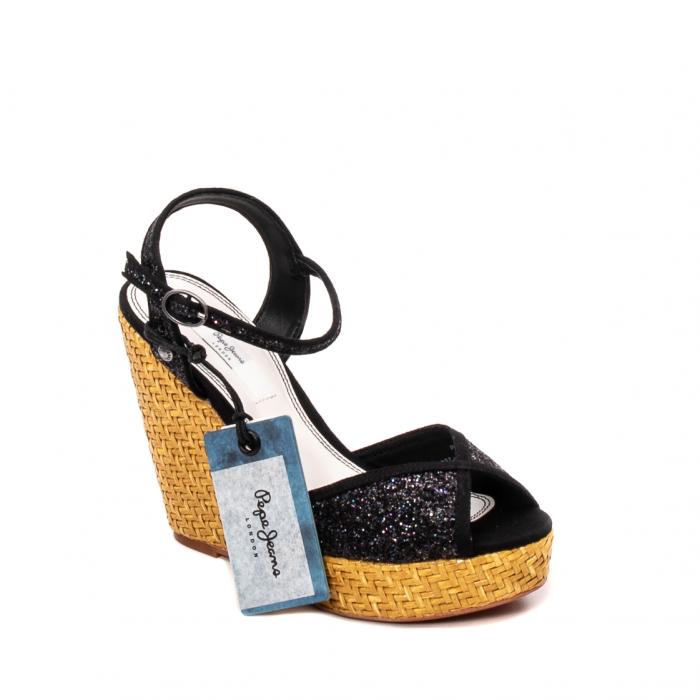 Sandale dama elegante din piele naturala, Walker glam, 90298-999 0