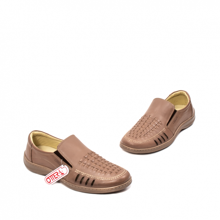 Pantofi barbati casual vara, piele naturala, OT 148 B2-N 1