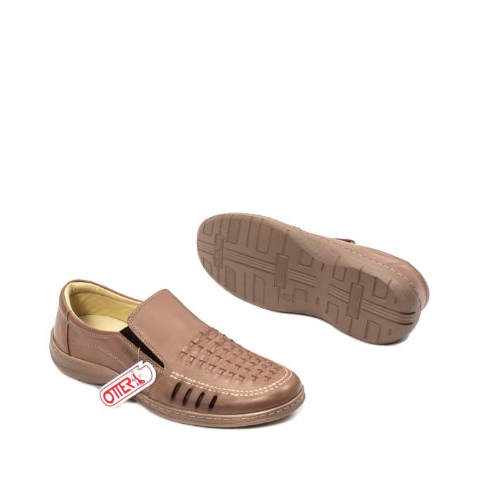 Pantofi barbati casual vara, piele naturala, OT 148 B2-N 3