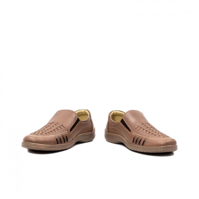 Pantofi barbati casual vara, piele naturala, OT 148 B2-N 4