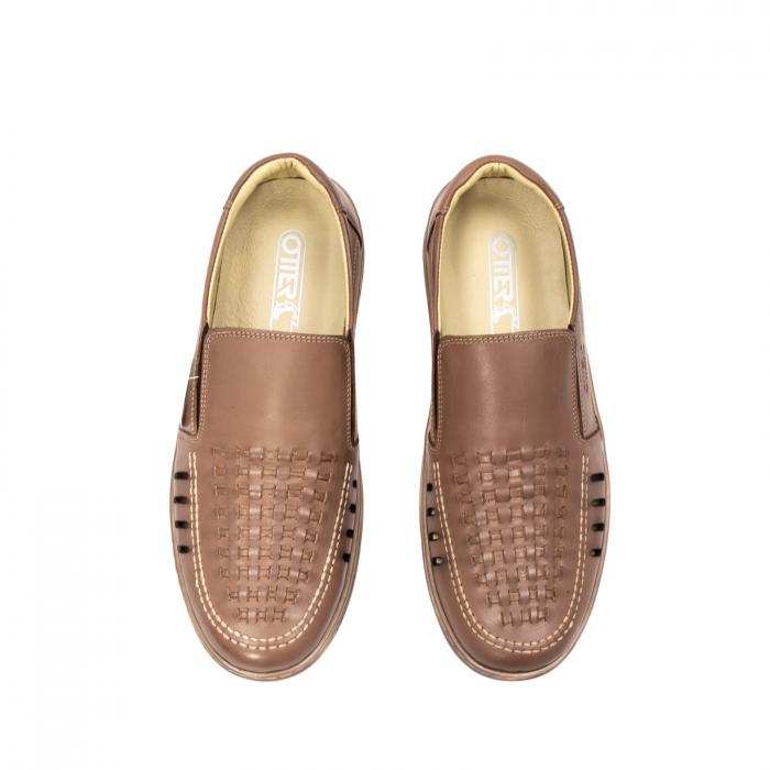 Pantofi barbati casual vara, piele naturala, OT 148 B2-N 5