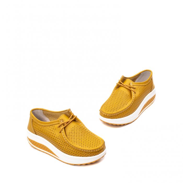 Pantofi dama casual de vara, piele naturala, 2074 M 1