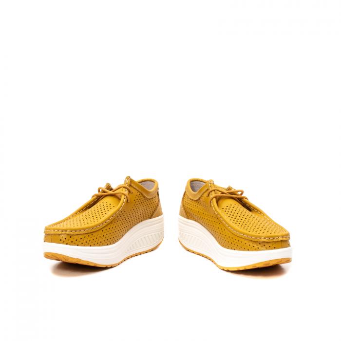 Pantofi dama casual de vara, piele naturala, 2074 M 4