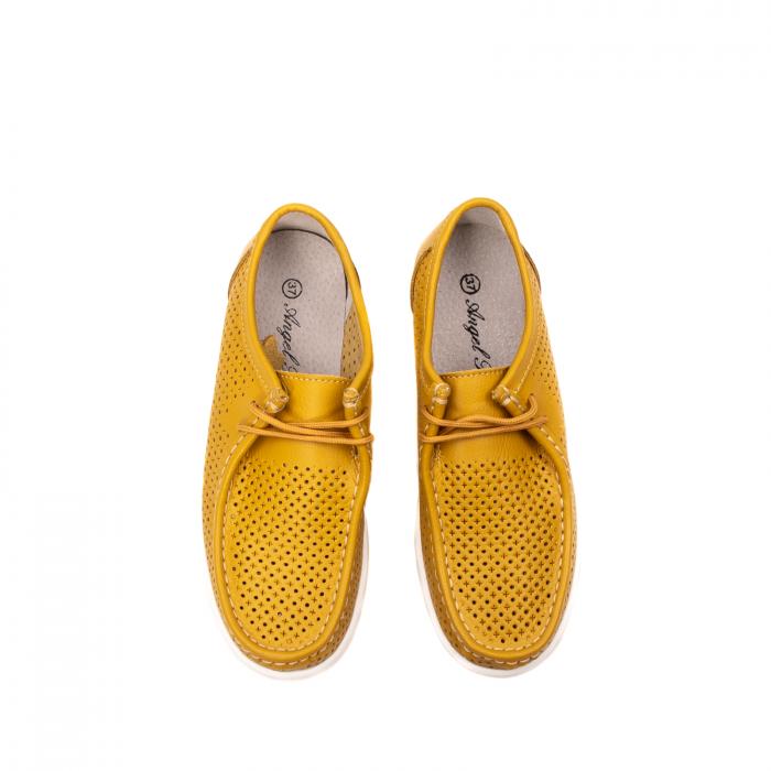 Pantofi dama casual de vara, piele naturala, 2074 M 5