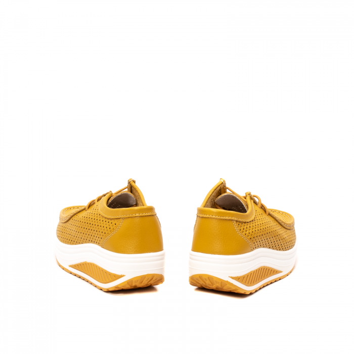 Pantofi dama casual de vara, piele naturala, 2074 M 6