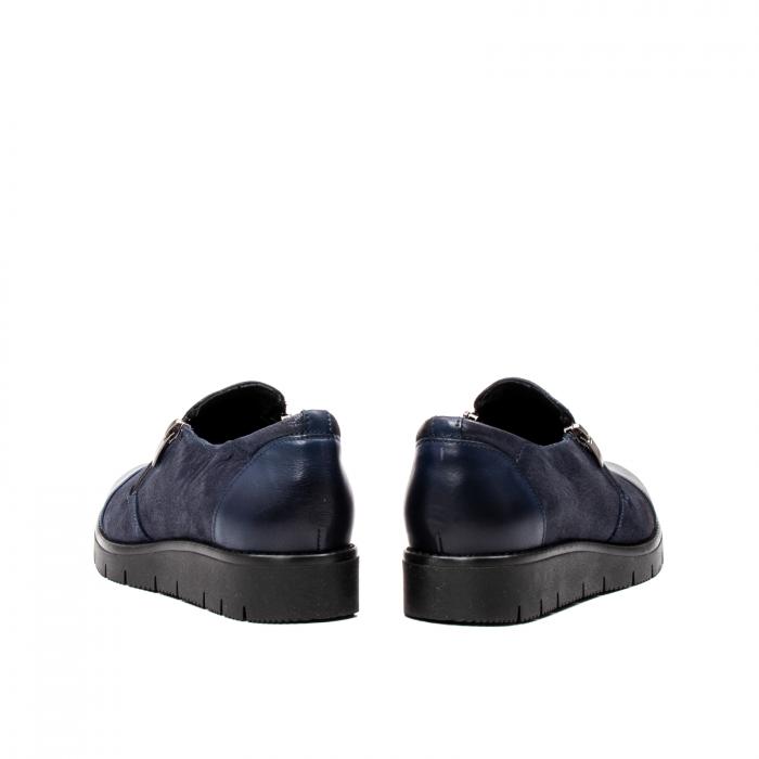 Pantofi casual dama, piele naturala, 182634AMA BL 6