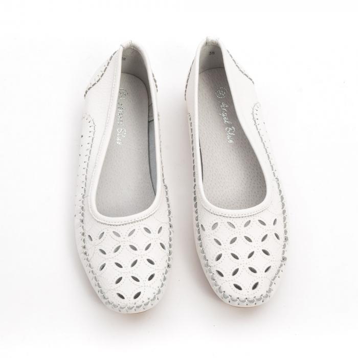 Balerini dama 1024-9 alb 4