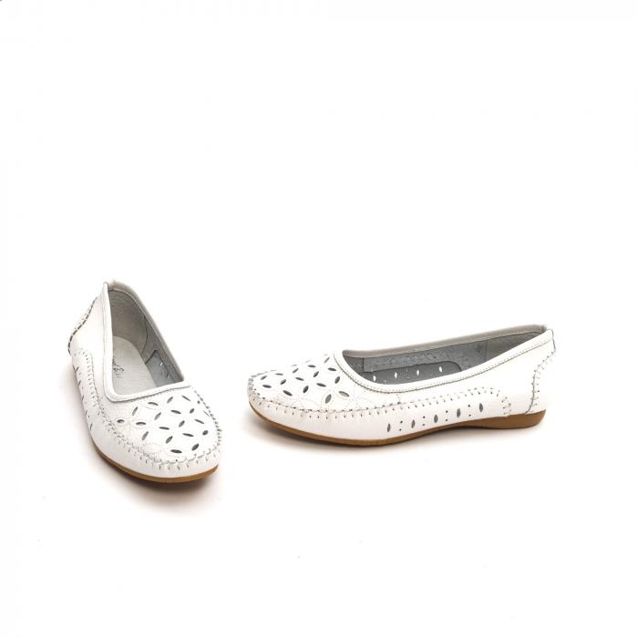 Balerini dama 1024-9 alb 1