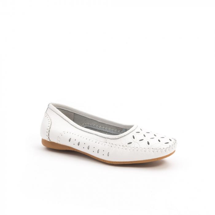 Balerini dama 1024-9 alb 0