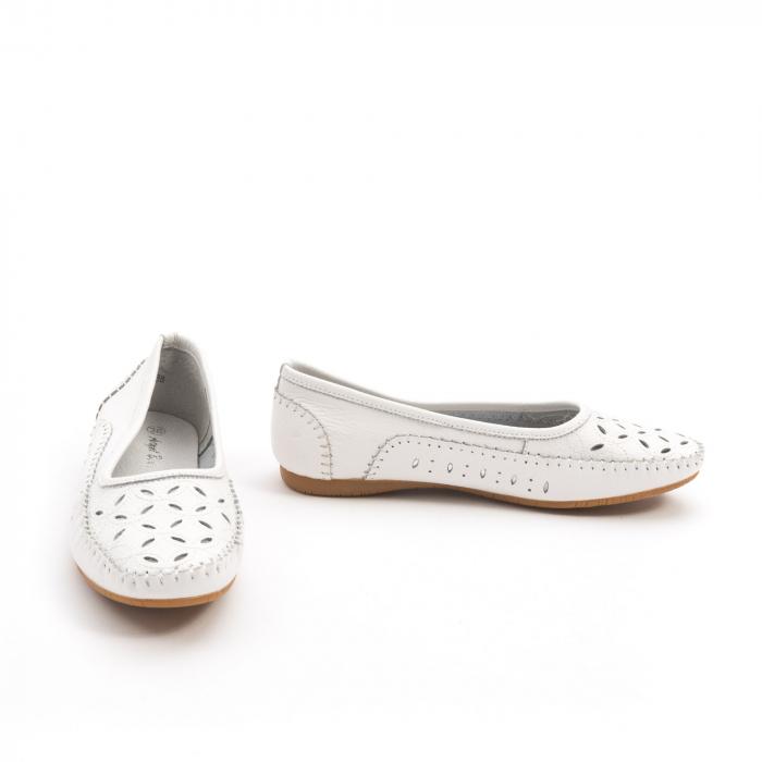 Balerini dama 1024-9 alb 3