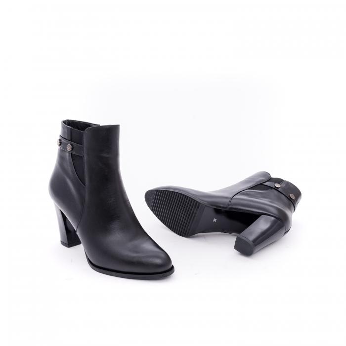 Botine elegante dama  marca NIKE INVEST-G 1153 negru 2