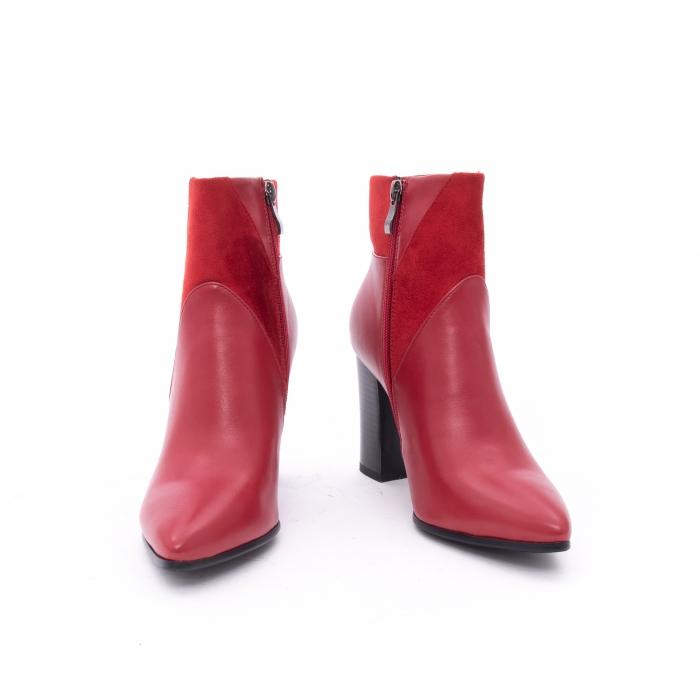 Botine elegante dama VN1734-2 red 3