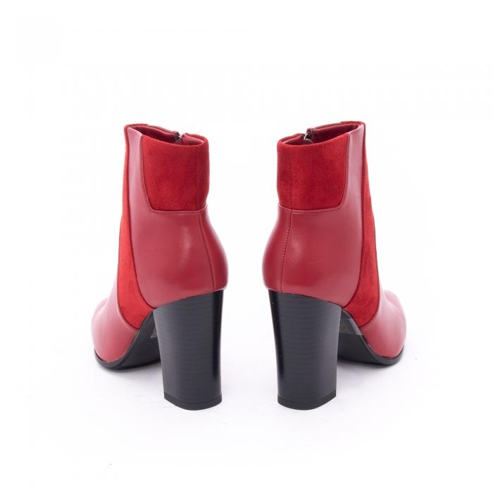 Botine elegante dama VN1734-2 red 4