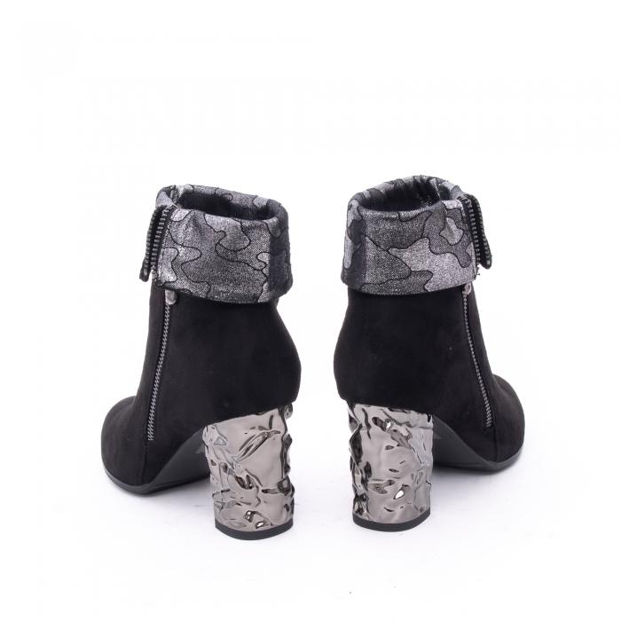Botine elegante dama VN9375-1 black 4