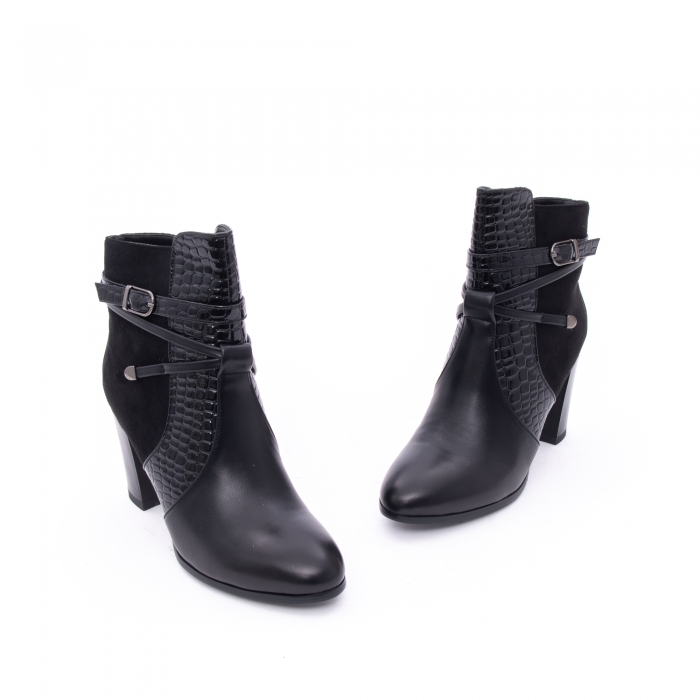 Botine elegante dama  VN9379-3 black 1
