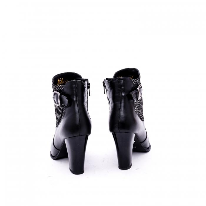 Botine elegante de dama marca Nike Invest  G 989 negru 5
