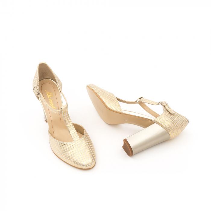 Decupat elegant dama 1041 auriu 3